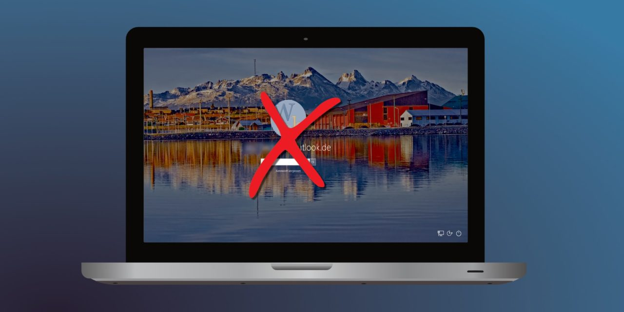Windows 10 ohne Passworteingabe starten
