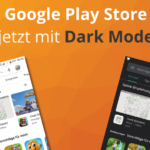 Google Play Store im Dark Mode